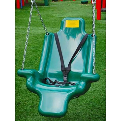 handicap swing adaptive swing seat by childworks ada playground