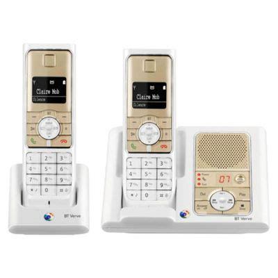 tesco mobile telephone number buy bt verve 450 white and metallic sandstone