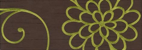 brown green pattern contemporary swirling flowers patterned brown green curtains