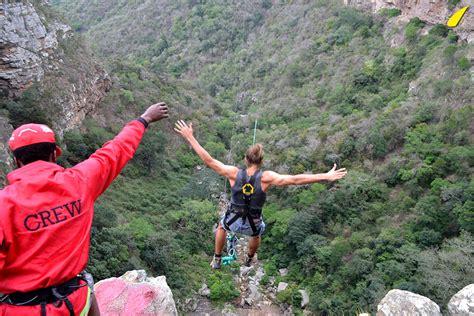 swing jump adrenadine activities in oribi gorge
