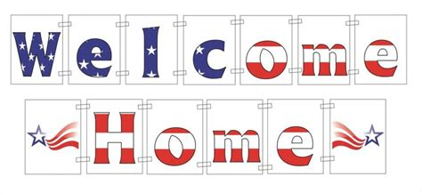 free printable welcome home banner at www bannergrams