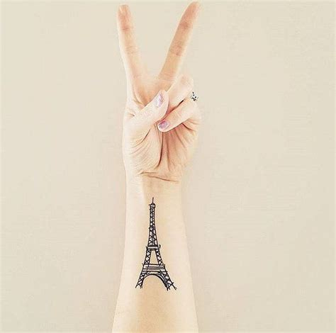 paris tattoos best 25 ideas on city