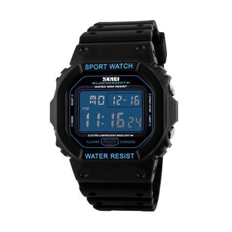 harga skmei jam tangan pria wanita fashion sport led
