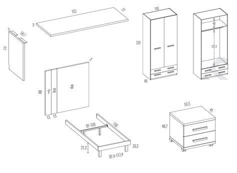 scrivania misure scrivania misure moderna scrivania di design con cassetto