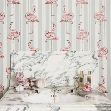 flamingo wallpaper toilet 29 fun flamingo touches to embrace the summer digsdigs
