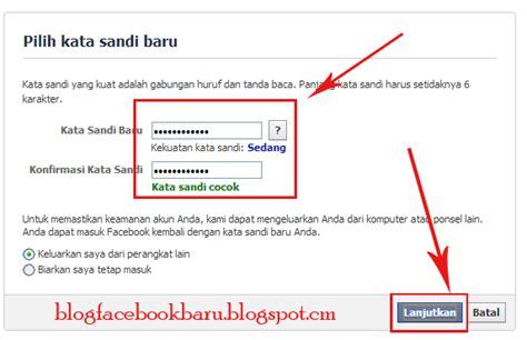 email lupa kata sandi cara masuk facebook jika lupa kata sandi password facebook