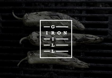 new logo for iron grill by end of work bp o