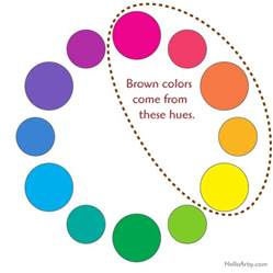 how to make brown color how to make brown helloartsy