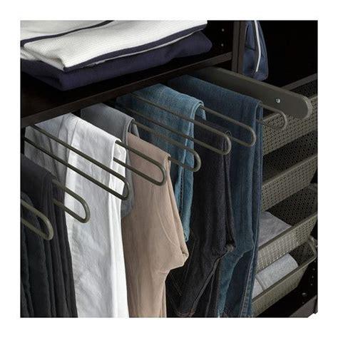 Ikea Komplement Gantungan Tarik Untuk Celana Putih50x35 Cm komplement pull out hanger gray the o jays 10 years and grey