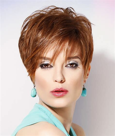 Hairdresser Photos Of Pixie Haircuts | a short red hairstyle from the short innovations