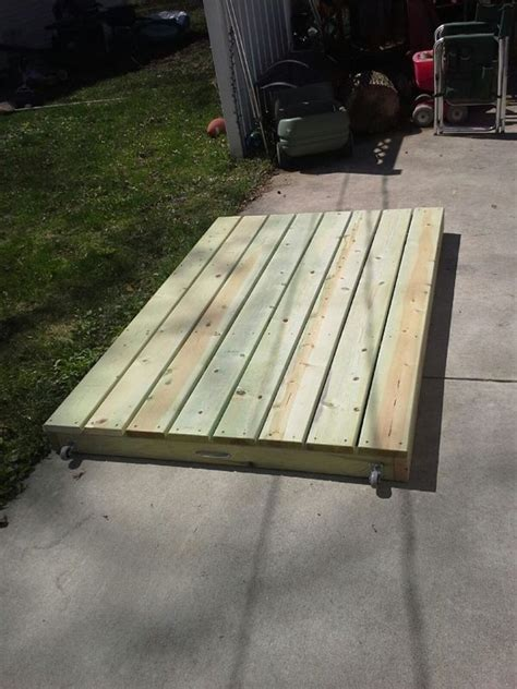 temporary deck portable deck by oftoolsanddreams lumberjocks com