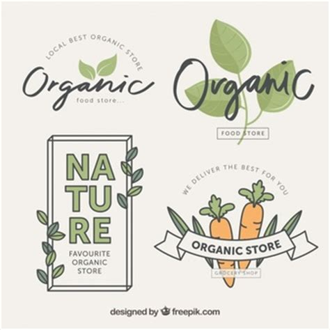 font design organic organic vectors photos and psd files free download