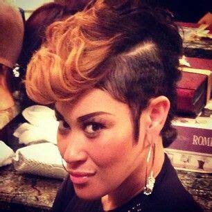 ke ke wyatt hairstyles keke wyatt s dope hairstyle rich and famous pinterest