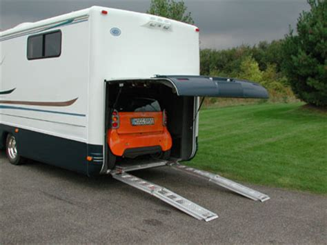 motor home with garage for cars motor home with garage for cars