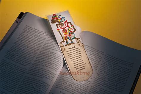 Pembatas Buku Karakter Jerapah pembatas buku wayang rama