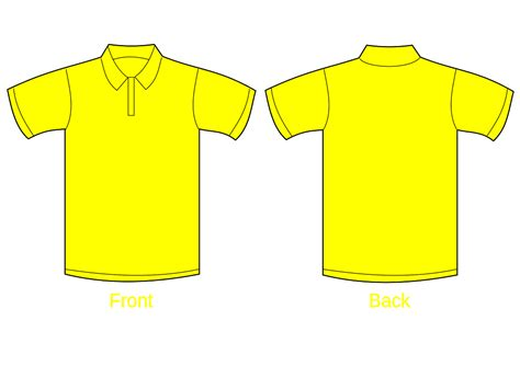 polo shirt template blank polo shirt template cliparts co