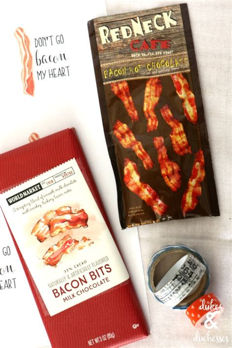 valentines bacon bacon s day printable dukes and duchesses