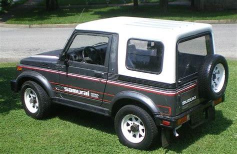 Suzuki Samurai Removable Hardtop Suzuki Samurai For Sale Page 8 Of 11 Find Or Sell