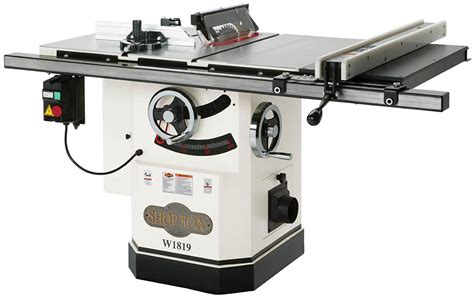 cabinet table saws reviews  delta grizzly jet