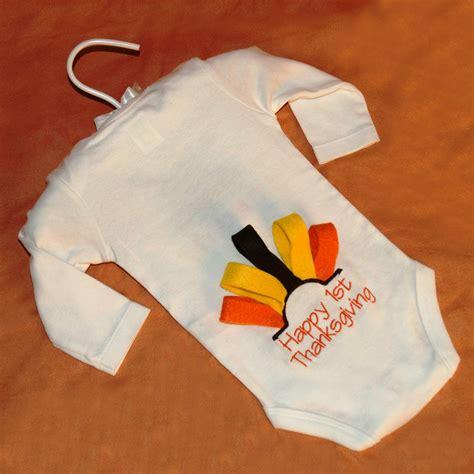 thanksgiving onesie embroider a thanksgiving onesie totally stitchin