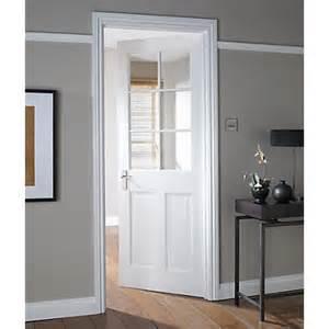Homebase Patio Doors London Stile Amp Rail 6 Lite Glazed Internal Door 762mm Wide