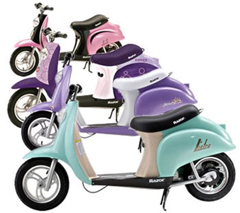 razor pocket mod electric scooter colors razor bistro and other electric scooters