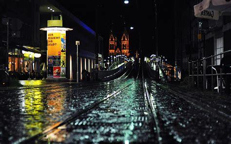 night rain in the city hd wallpapers widescreen 1280x800