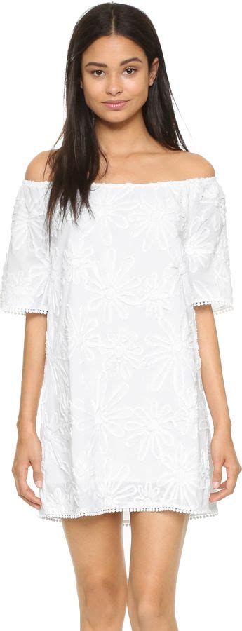 bb manda selfie askfmggast0on love this white lace mini dress with gathered neckline bb