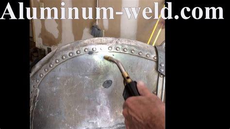 aluminum boat repair youtube aluminum boat rivet repair youtube