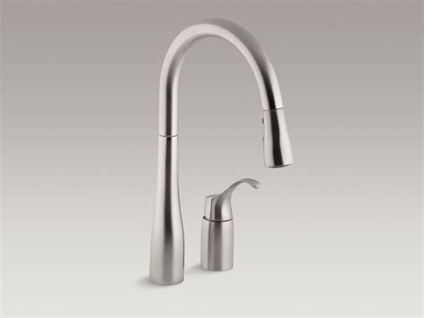 kohler simplice kitchen faucet standard plumbing supply product simplice two pull