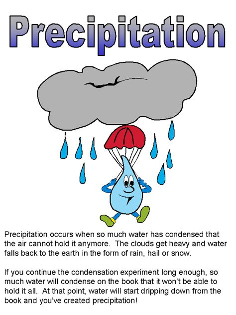 Process Of Precipitation And Its Application In Pharmacy Water Cycle Thinglink