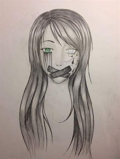 drawing ideas drawing skills pinterest girls drawing depression google search to draw pinterest