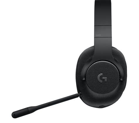 Logitech G433 7 1 Gaming Headset logitech g433 7 1 gaming headset black deals pc world