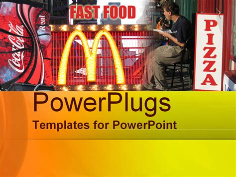 fast food powerpoint template fast food powerpoint template background of fast food