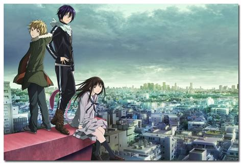 Poster Anime Noragami 2 noragami anime silk poster pictures for room 13x20