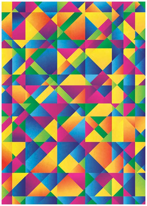 abstract pattern illustrator tutorial how to create a colorful abstract poster in illustrator
