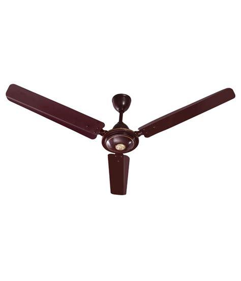 brown ceiling fans black cat brown 48 toofan ceiling fan price in india buy