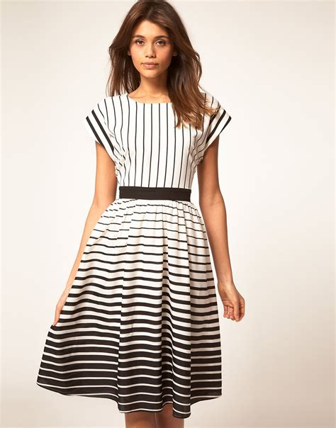 Asos Striped Dress glam deal asos striped midi dress inher glam