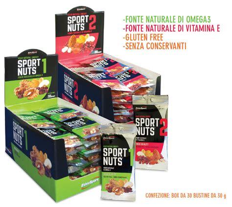 alimenti energetici naturali frutta secca e disidratata adatta per lo sport alimenti