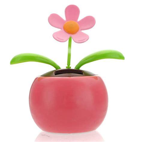 Bunga Goyang Motif Energy Solar Moving Plant Pot Murah kopen wholesale zonne bloemen uit china zonne bloemen groothandel aliexpress