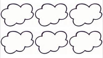 Cloud Templates by Printable Cloud Template Cliparts Co