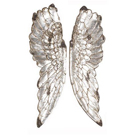 wall decor angel wings metal angel wings wall d 233 cor wall mounted angel wings uk