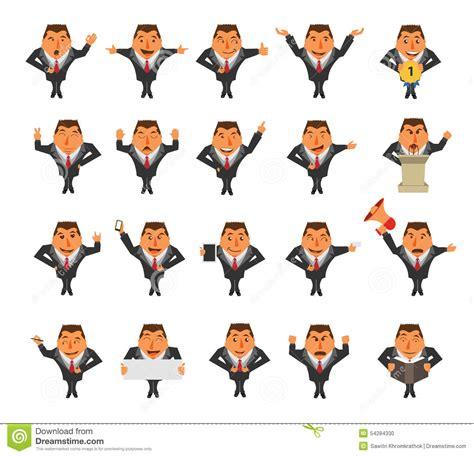 Vector Businessman Cartoon Character Stock Vector Image Character Ideas