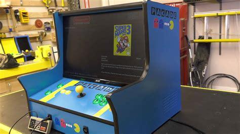 arcade cabinate pacade bartop arcade cabinet plans the pub
