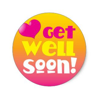 Get Well Stickers