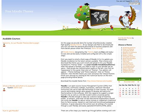 moodle themes for schools free templates blog 187 moodle 187 primary school e learning