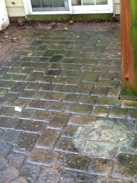 Paver Patio Maintenance Williamstown Paver Patio Cleaning Aqua Boy Powerwashing