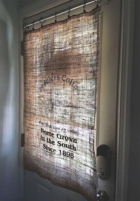 Joann Home Decor Fabric by Burlap Bag Curtain Hometalk