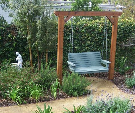 outdoor swing ideas great garden swing ideas to ensure a gregarious time for