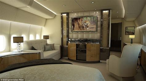 jet room inside of the 607 million jet boeing 747